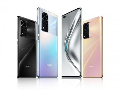Honor launches 1st smartphone V40 5G since Huawei separation
