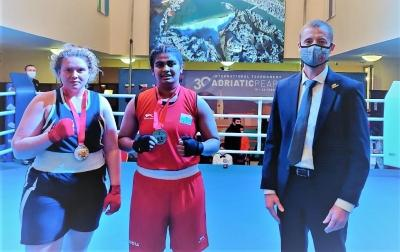 Adriatic Pear boxing: Hard-working Alfiya wins first gold for India