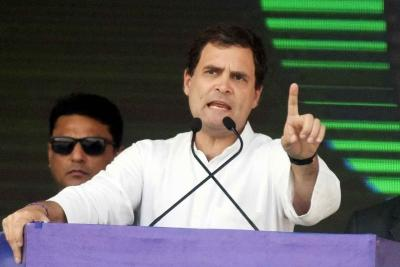 Privatisation hurts public- benefits only a handful of cronies: Rahul Gandhi