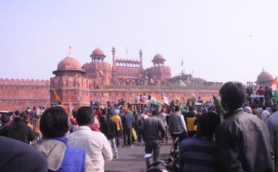 How the situation turned ugly at Red Fort