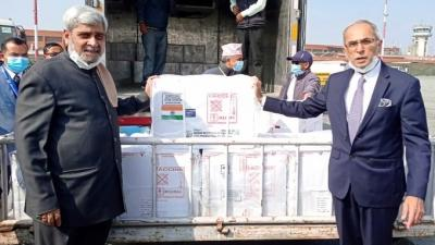 Indian Covid vaccine arrives in Nepal