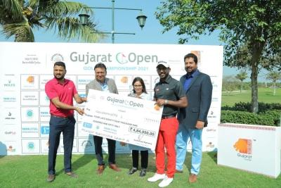 Chikkarangappa rallies to win Gujarat Open golf title