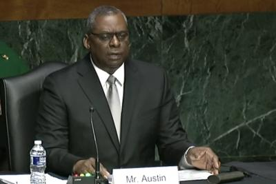 Former US general Austin will be first African American Def Secy (Lead)