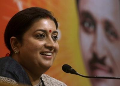 Smriti Irani to build a house in her constituency Amethi