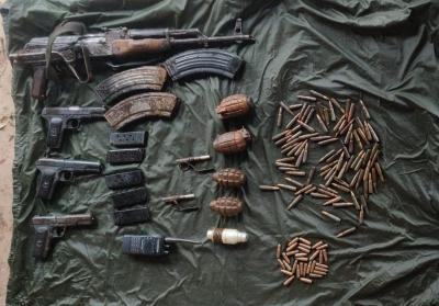 Terror hideout busted, ammunition recovered in J&K