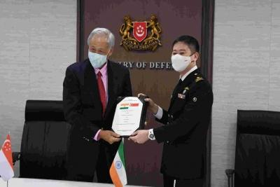 Singapore joins India as Indo-Pacific partner
